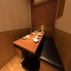 スタイリッシュで落ち着きのある個室の為、小宴会から接待まで幅広くご利用いただけます♪