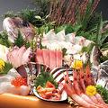 料理メニュー写真仰天!大漁盛(12点盛り)