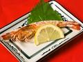 料理メニュー写真活き車海老 (塩焼き)