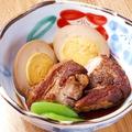 料理メニュー写真豚角煮と煮玉子