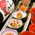 料理メニュー写真酒肴の五種盛り