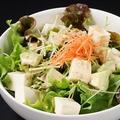 料理メニュー写真豆腐とアボガドのヘルシー胡麻サラダ