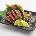 料理メニュー写真鮪タタキ