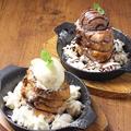 料理メニュー写真<Dolce>(店長特製)ハニーフレンチトースト/チョコフレンチトースト
