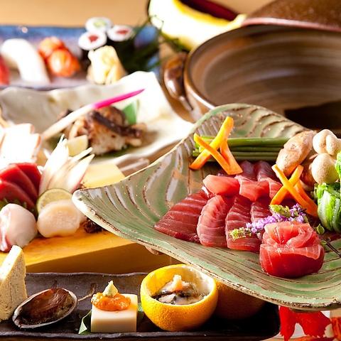 使用する食材からこだわったお寿司をリーズナブルな価格でご堪能いただけます。