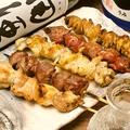料理メニュー写真鶏串盛合せ(おまかせ5本)