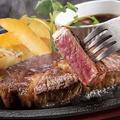 料理メニュー写真牛ハラミ鉄板ビーフファフィタ