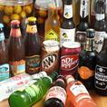世界各国のビールもお楽しみ頂けます☆