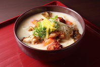 鶏つみれと冬野菜の白味噌クリームうどん