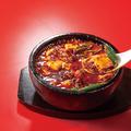 料理メニュー写真石焼沸騰麻婆豆腐