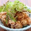 料理メニュー写真もも唐(ガンコだれ/激ウマだれ/塩だれ)