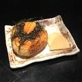 料理メニュー写真松のうに味噌焼きおにぎり