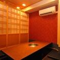 高級感のある上質な個室多数!中規模であれば人数問わず個室のご用意可能です!