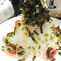 料理メニュー写真大根と揚げめんのパリパリサラダ