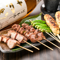 宴会にも大人気のこだわりのお肉料理を多数ご用意。