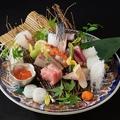 料理メニュー写真本日のお任せお造り 十種
