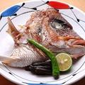 料理メニュー写真真鯛かぶと焼き
