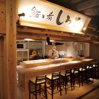 岐阜横丁名物職人が目の前で握る本格寿司をお手軽に♪