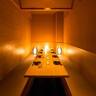 柔らかな照明が灯る寛ぎプライベート空間へご案内…