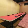 16名以上個室 【最大100名様】まで★※系列店との併設店舗です。