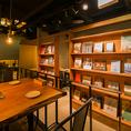 インテリアにこだわり、本棚で演出する新スタイルのお洒落空間。