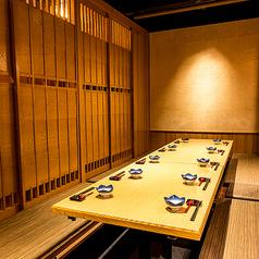 地酒と和食個室居酒屋 とく山 新橋本店の雰囲気1
