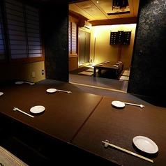 上品な和空間のお座敷個室。2~16名様でご利用頂けます。