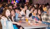 女子会や仲間たちの集まりにばっちり!仲間同士の飲み会もノルベサビアガーデン 月光で!