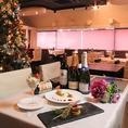 12月23日~25日クリスマスディナー期間はクリスマスムード一色に☆☆☆ 大切な人とごゆっくりお過ごし下さい。