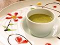 料理メニュー写真自家製抹茶のクリームブリュレ