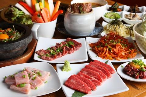 美味しいお肉とお野菜を一緒に楽しむ焼肉屋さん♪宴会食べ放題・飲み放題コースあり!