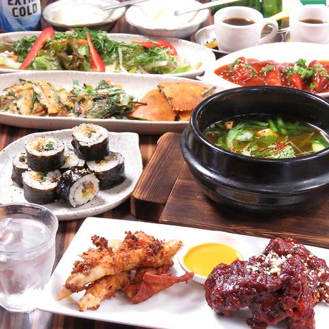 《今出川の韓国料理店♪》チキンとチゲとキンパが食べれるお店♪