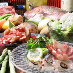 洋膳坊 楽の市のコース写真