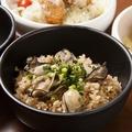 料理メニュー写真牡蠣めし(汁もの付)