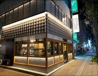 松本駅前一角にたたずむ店舗