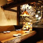 4名様用のお席★和を基調としたお席でお食事をお楽しみください♪