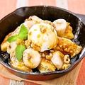 料理メニュー写真キャラメルナッツとバナナのフレンチトースト