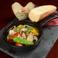 極上鱈白子と和野菜のアヒージョ