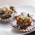 料理メニュー写真長太郎貝のバター&みやむらポン酢