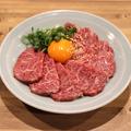 料理メニュー写真和牛ハラミ刺