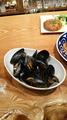 料理メニュー写真ムール貝のシードル蒸し