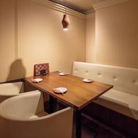 プライベート空間も充実!仙台駅近のお洒落個室