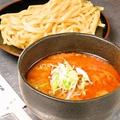 料理メニュー写真牛すじ辛味噌つけ麺