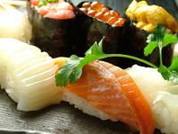 職人が握る、本格生寿司食べ放題