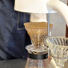 店内全体にコーヒーのいい香りが立ち上ります♪