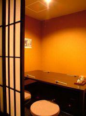 6~7名様がご利用可能な個室席です。