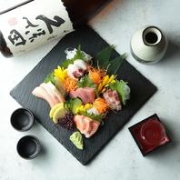 産地直送の鮮魚も人気の秘密★美味しいお酒と一緒に♪