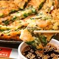 料理メニュー写真特製海鮮チヂミ