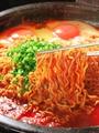 料理メニュー写真サリ麺(韓国ラーメン麺)
