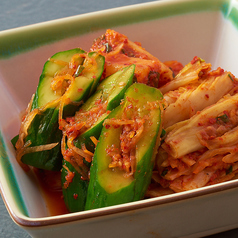 キムチ盛合せ  3品盛(白菜・大根・胡瓜)